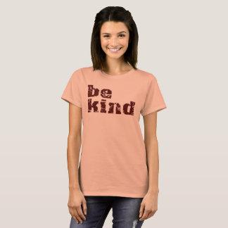 T-shirt soyez vitesse simple aimable de message