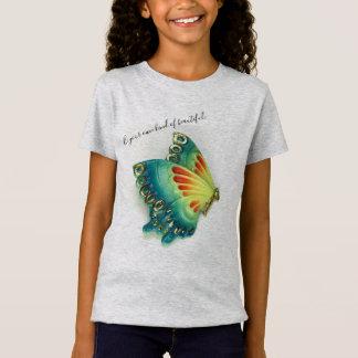 T-Shirt Soyez votre propre genre de beau, petit, filles,