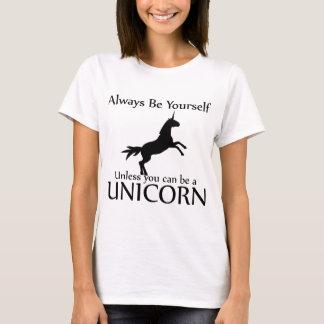 T-shirt Soyez vous-même licorne