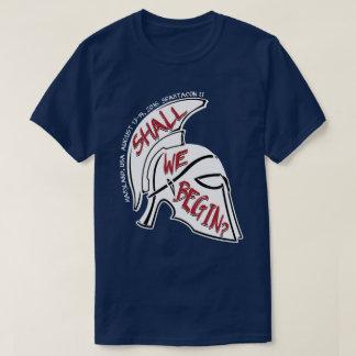 """T-shirt Spartacon II """"nous commencent ?"""" Chemise"""