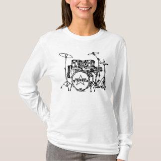 T-shirt Special de kit de tambour