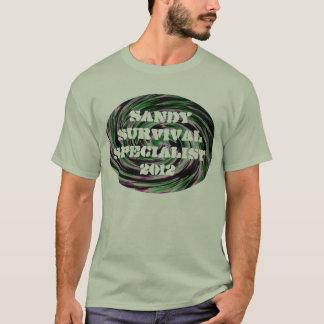T-shirt Spécialiste 2012 en survie de Sandy