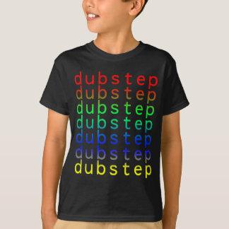 T-shirt Spectre de couleur des textes de Dubstep