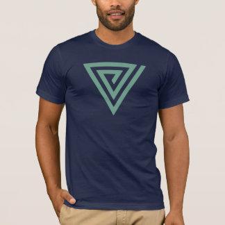 T-shirt Spirale à angles