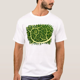 T-shirt Spirale abstraite