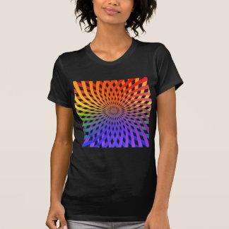 T-shirt Spirale de roue de couleur :
