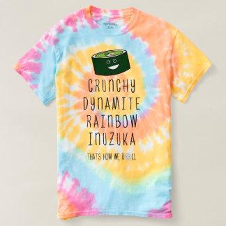 T-shirt Spirale en pastel qui est comment nous roulons.