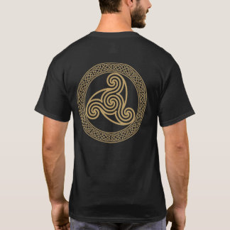 T-shirt Spirale triple celtique