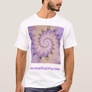 T-shirt Spirales de lavande