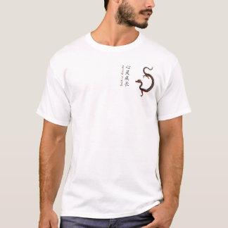 T-shirt spirituel de dragon de croissance