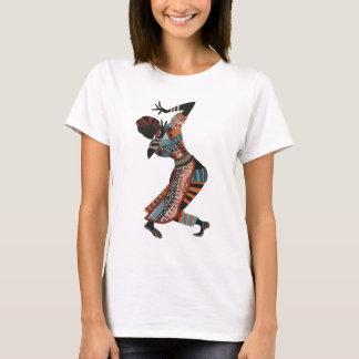 T-shirt spirituel de Kwanzaa de danseur