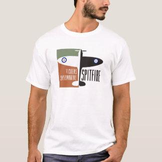T-shirt spitfire de supermarine de vickers