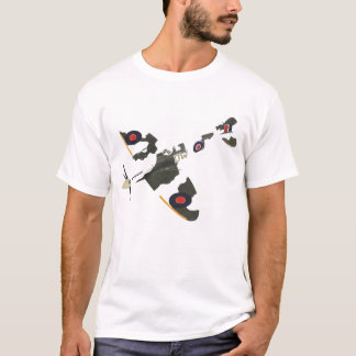 T-shirt spitfire détruit 2
