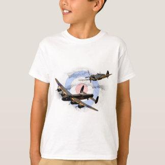 T-shirt Spitfire et Lancaster