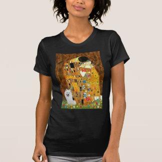 T-shirt Spitz esquimau 1 - le baiser