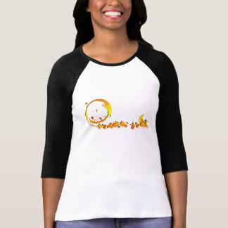 T-shirt Splash and moon