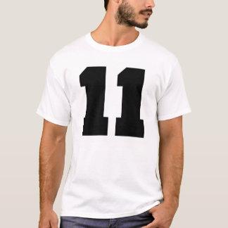 T-shirt Sport du numéro 11