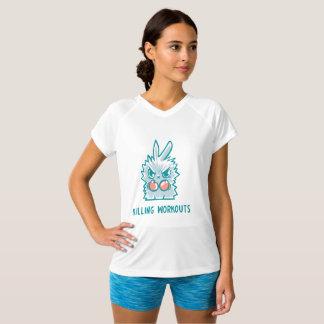 T-shirt sport, killing workouts, for women