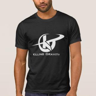 T-shirt sportif extrême de gravité de massacre.