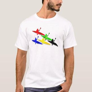 T-shirt Sports aquatiques de kyak de canoë de Kyaking de