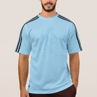 T-shirt Sports faits sur commande d'adidas faisant un