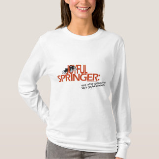T-shirt Springer joyeux défini