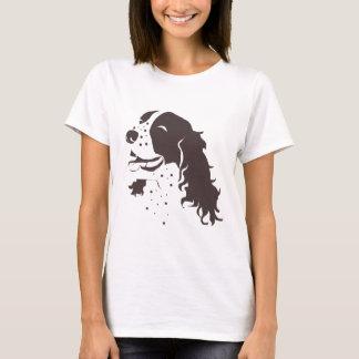 T-shirt Springer spaniel riant