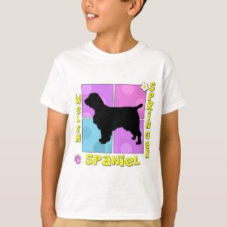 T-shirt Springer spaniel super de Gallois