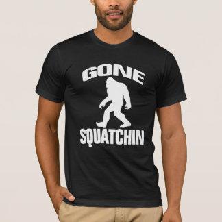 T-shirt Squatchin allé