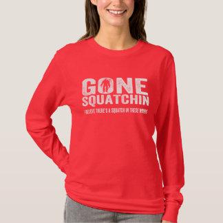 T-shirt Squatchin allé (affligé) Squatch en ces bois
