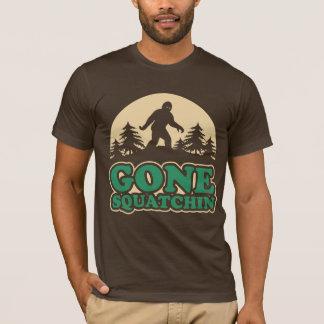 T-shirt Squatchin allé Bigfoot