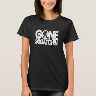 T-shirt Squatchin allé - blanc affligé