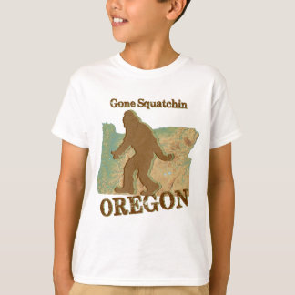T-shirt Squatchin allé Orégon
