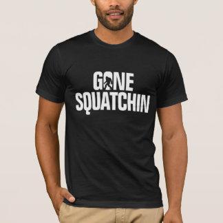 T-shirt Squatchin allé - silhouette blanche