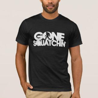 T-shirt Squatchin allé - silhouette de noir/blanche
