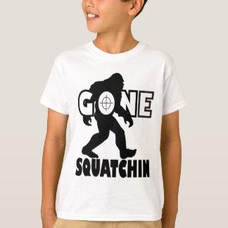 T-shirt Squatchin allé sur la cible