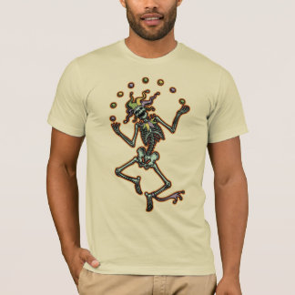 T-shirt Squelette de jonglerie de farceur