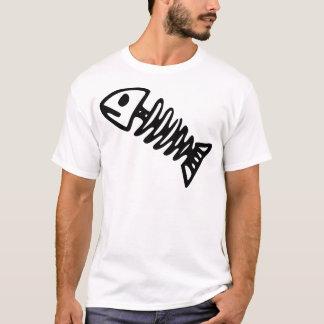 T-shirt Squelette de poissons