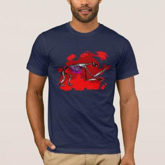 T-shirt squelettique de paresse (hommes)