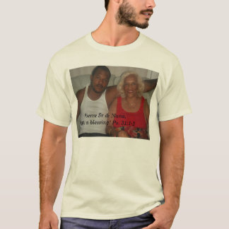 T-shirt Sr et Nana de Pierre,