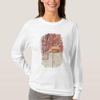 T-shirt St Augustine, Epicurus, Zénon, Antiochus et