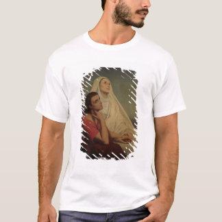 T-shirt St Augustine et son St Monica, 1855 de mère