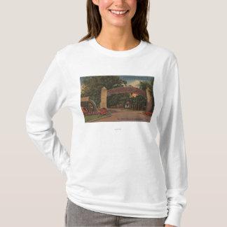 T-shirt St Augustine, FL - fontaine de l'entrée de la