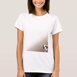 T-shirt St Bernard de sourire sur Brown