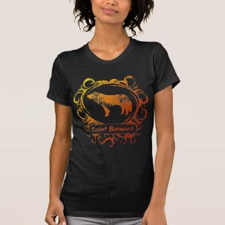 T-shirt St Bernard patiné chic