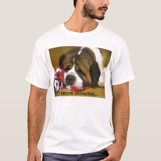 T-shirt St Bernard somnolent