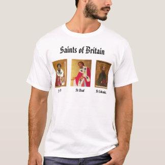 T-shirt St Cedd, St Tchad, Columba de St, saints de