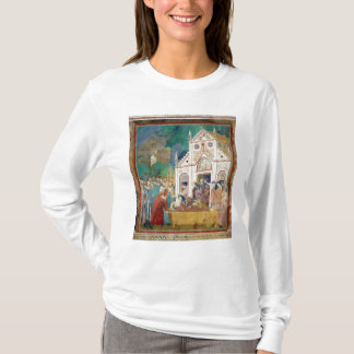 T-shirt St Clare embrasse le corps de St Francis