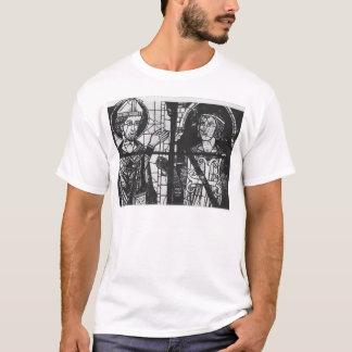 T-shirt St Denis donnant l'oriflamme au chevalier clément