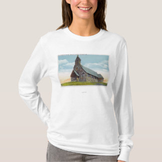 T-shirt St église épiscopale de Peters-par-le-Mer